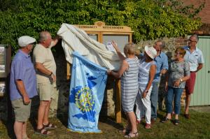 Unveiling of noticeboard