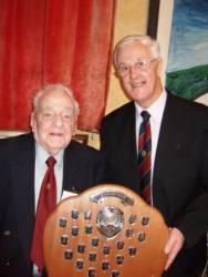 Rotary Presidents' surprise visit to Llantwit Major Probus Club