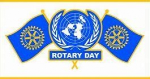 CLUB MEETING - ROTARY DAY CELEBRATIONS.