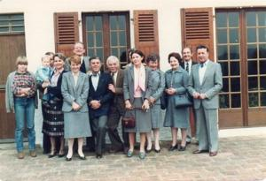 Rotary Exchange visit to Le Mans (1982)