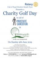 Charity Golf Day - 9 June