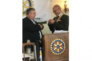 Rotary Club of Guernsey has a new President (26 June 2019)