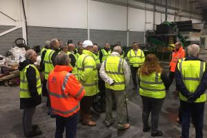 A visit to the Household Waste & Recycling Centre (Thursday 3 October 2019)