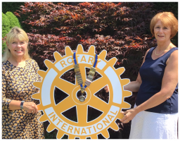 Happy New Rotary Year and Happy New President Bev!