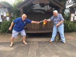 Uttoxeter Rotarians refuse to vegetate during Covid-19 lockdown