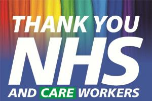 Thank You NHS and Care Workers