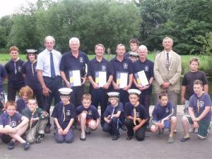 Bungay Rotary Scouts Awards 2010