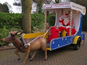 Santa and Christmas Sleigh