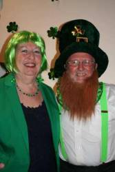 Our Saint Pat's Celebration Evening 18/03/2014