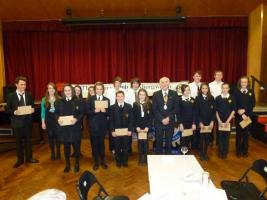 Young Musician competition 23rd October 2012