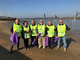 Rotary clean up  the town