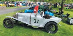 Prescott Classic Car event, Chelt Cleeve Vale Rotary Club