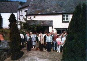 Rotary Exchange visit by Le Mans to Abergavenny (1985)