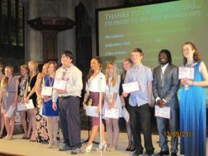 Sep 2011 Cambridgeshire Young Person of the Year