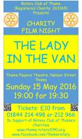 Thame Rotary Charity Film Night 2016