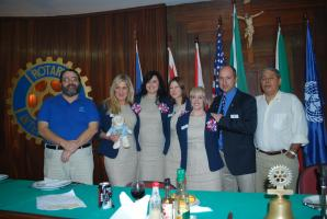 15th Aug : Rotary GSE Team Visit