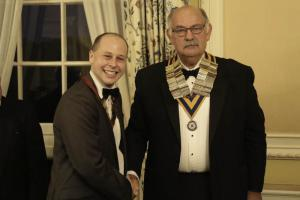 New Rotaract President Inducted