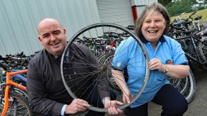 Rotary in Ireland prison partnership providing wheels for Africa
