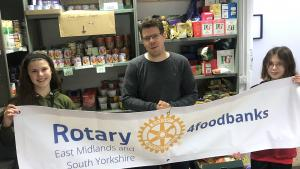 Rotary supporting foodbanks