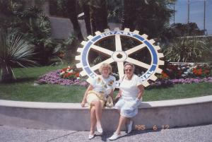1995 Rotary Conference in Nice - 1995