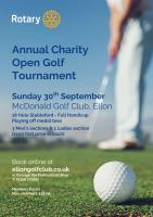 Ellon Rotary Annual Charity Open Golf Tournament 2018