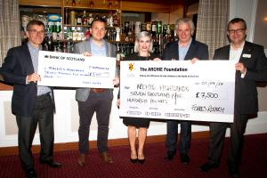ROTARY FORRES HANDS OVER £15,000 FOLLOWING CHARITY EVENT IN GRANT PARK