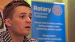 Young Rotary members blazing a trail in Manchester