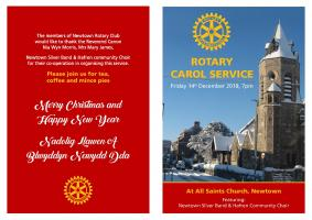 Carol Service - All Saints Church, Newtown