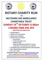 Charity Fun Run in Lydiard Park