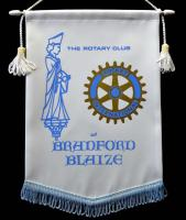 Banners from other Rotary Clubs