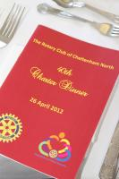 Cheltenham North Charter Anniversary Dinner 26th April 2012