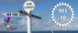 John O'Groats to Lands End with President Paul