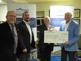 Rotary Members and Guests raise £4,300 for Charity with a visit to Arragon Mooar