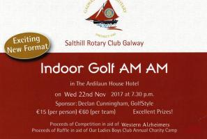 Indoor Putting Competition for Charity