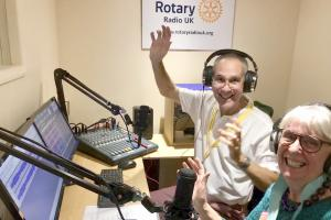 Rotary Radio UK bringing harmony to the world
