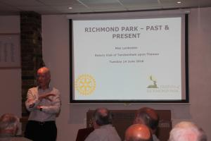 Richmond Park, past and present - June 2016