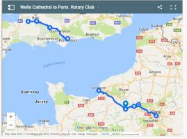 2018 Wells Cathedral to Notre Dame, Paris - Charity Cycle Ride