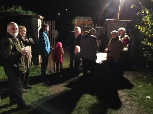 Rotary support Round Table Bonfire Night in Belmont Park