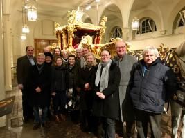 Local Rotary Club enjoys a right royal outing!