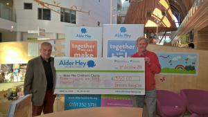 Walking Event results in donation to Alder Hey