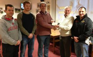 Tenby Rotary sponsor local rugby match
