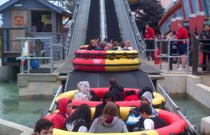 Kids Out at Thorpe Park 2013