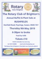 Rushfields Plant Sale and Buffet