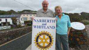 Warrington Rotarian walks the Coastal Path