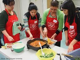 Salvation Army Homeless Feeding Programme