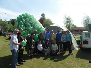 Big Green Balloon Race - 23 May