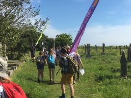 St Michael's Way Challenge 'Walking for Water'