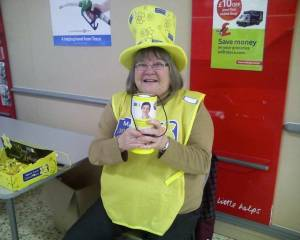 Collection for Marie Curie Cancer Care