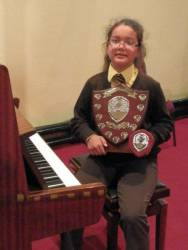Sabrina is Junior Young Musician for 2013!
