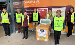 Supporting the Foodbank with Sainsburys